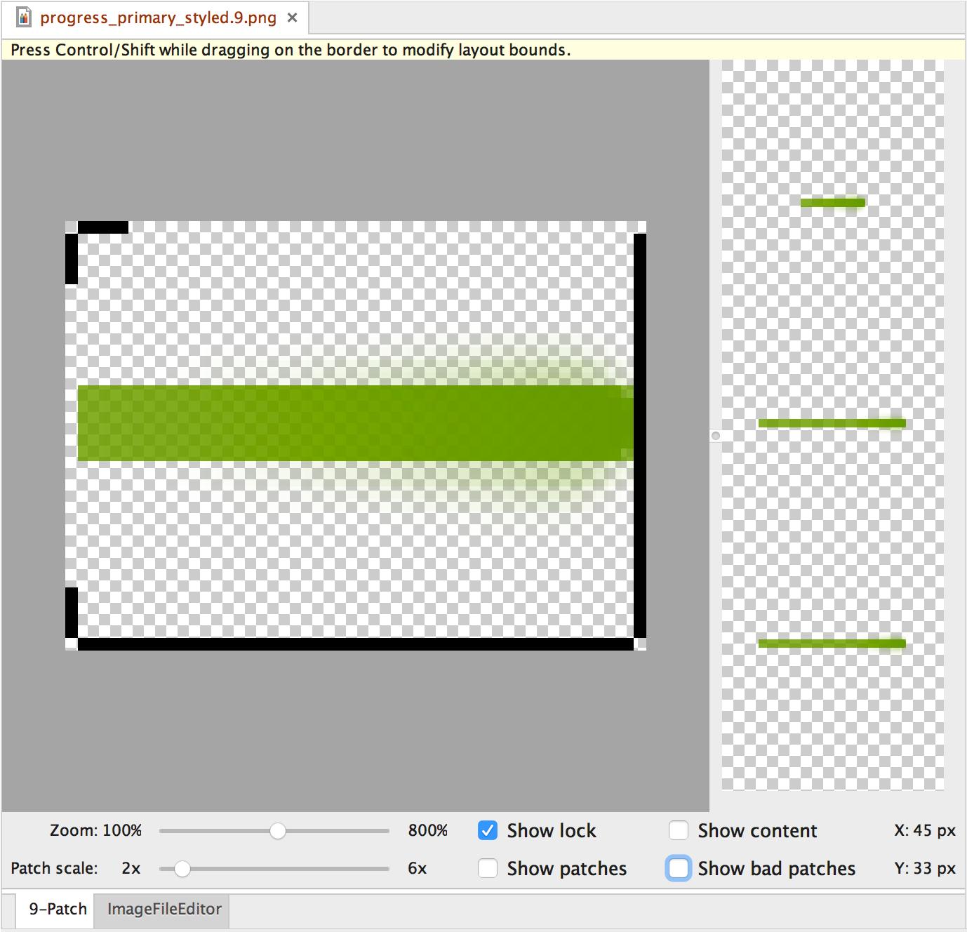 Create resizable bitmaps (9.