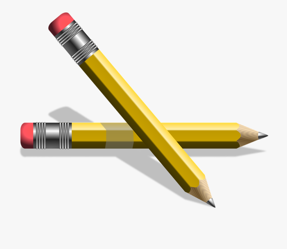 Pencil Clipart Number.
