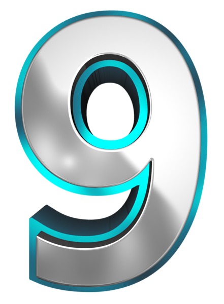Number Nine Png & Free Number Nine.png Transparent Images #25141.