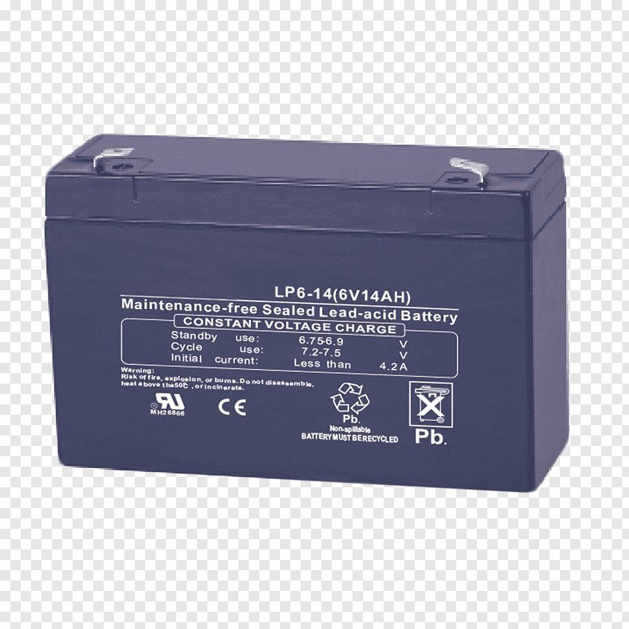 Electric battery VRLA battery Ampere hour Volt Rechargeable.
