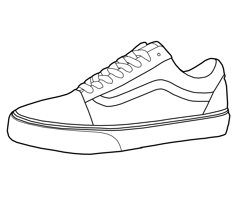 Men Shoes Vans Shoes Drawing Aecfashion Com.