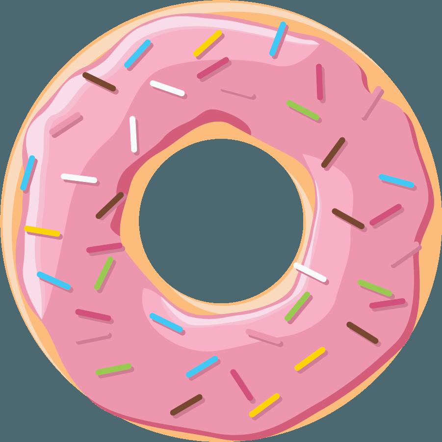 Donuts Clip art Boston cream doughnut Dessert Bakery.
