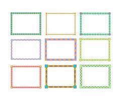 Frame Border Free Vector Art.