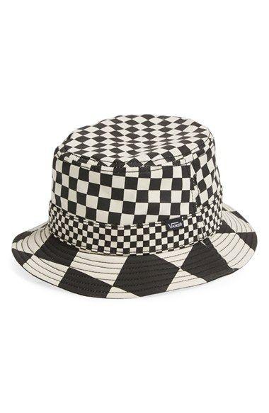 Vans \'Checker\' Bucket Hat in 2019.