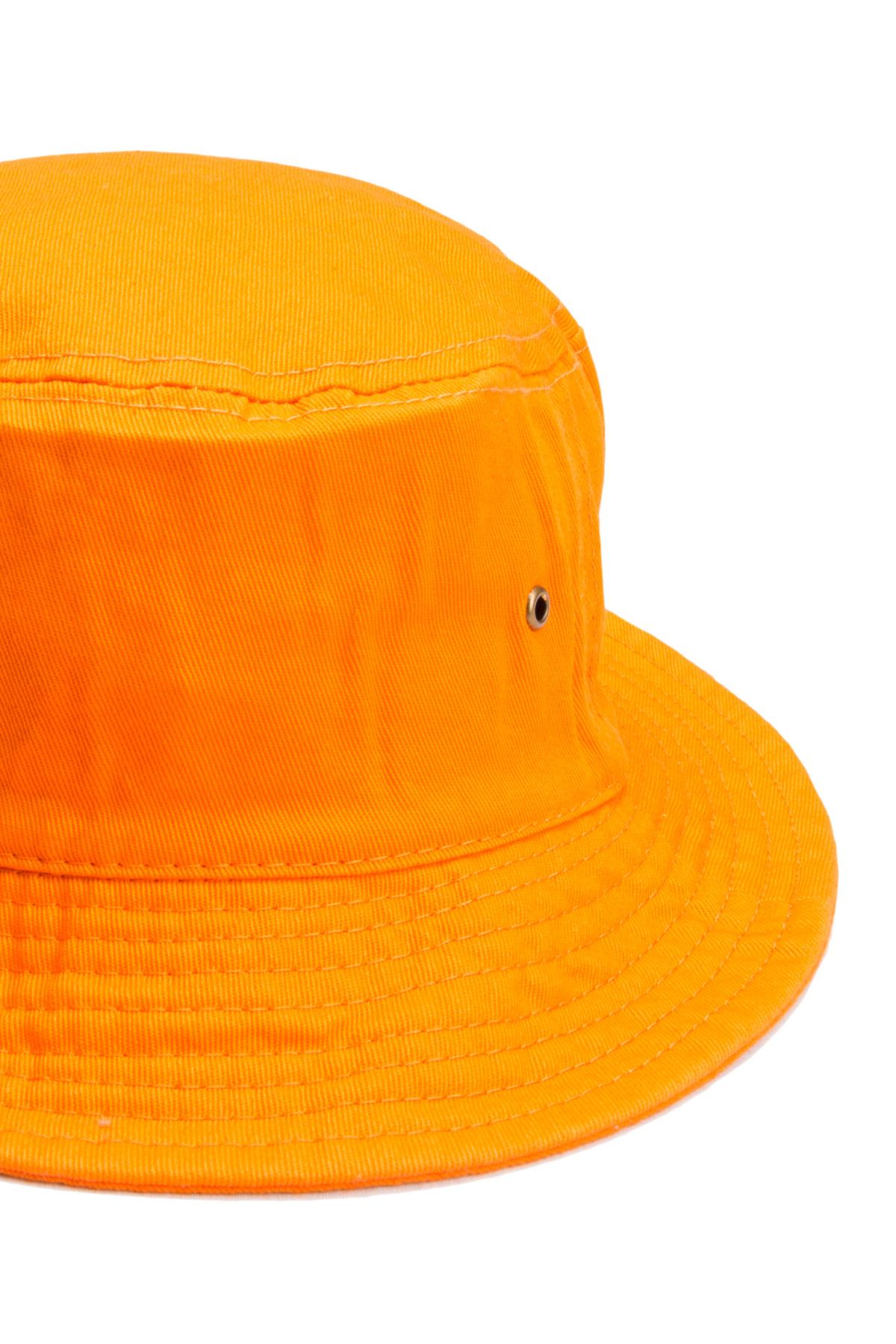 Orange Bucket Hat.