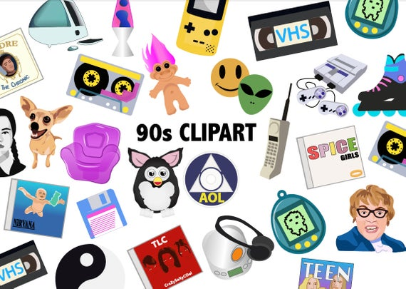 90'S CLIPART.