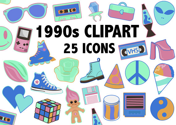 1990'S CLIPART.