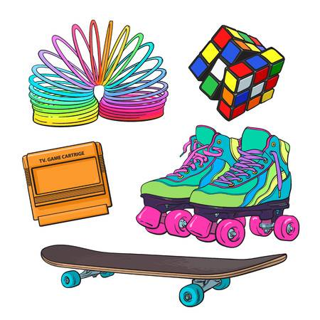 1,896 Nineties Cliparts, Stock Vector And Royalty Free Nineties.