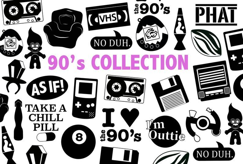 90\'s SVG COLLECTION.
