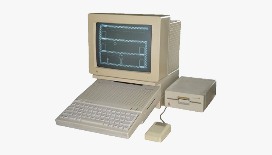 90s Transparent Computer.