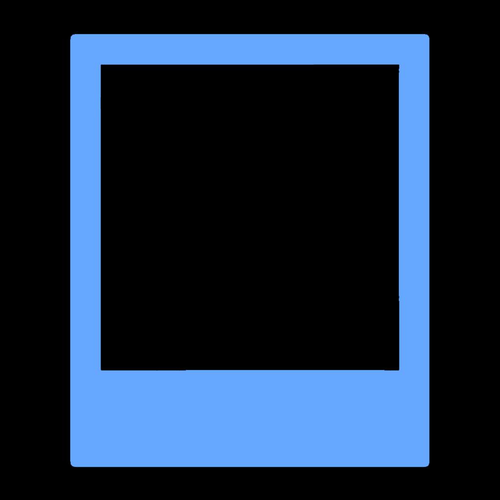 polaroid 90s frame border pastel.