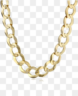 Gold Chain PNG.