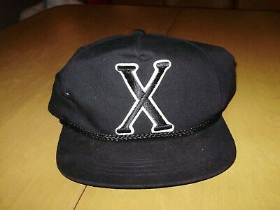 90\'S MALCOLM X Snapback Vtg 90s Hat Cap.