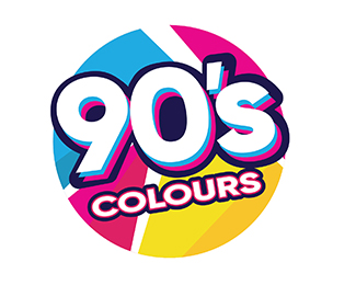 90s Colours Designed by sugidesign.