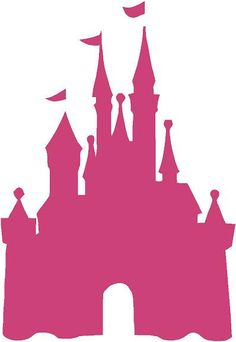 Disney Castle Clipart Outline.