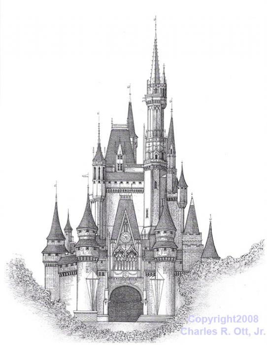 Disney Castle Clipart Movie.