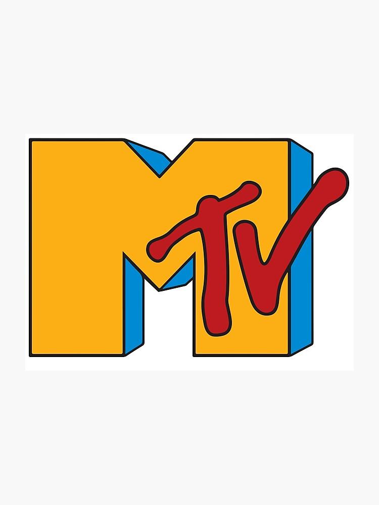 MTV 90s Logo.