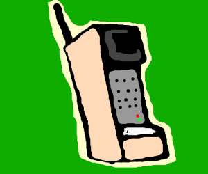 90s clipart old cell phone, 90s old cell phone Transparent.