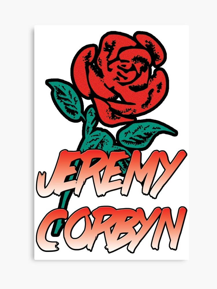 JEREMY CORBYN LABOUR 90s ROSE VINTAGE T.