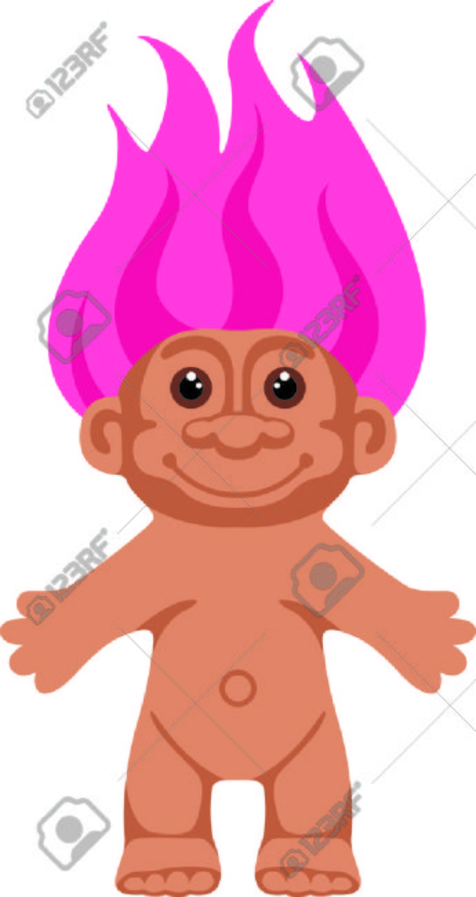 Troll doll clipart 1 » Clipart Station.