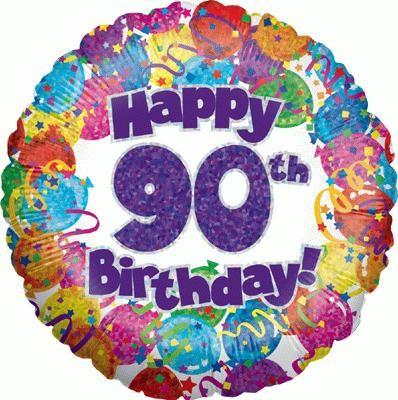 90th Birthday Card Blitz.