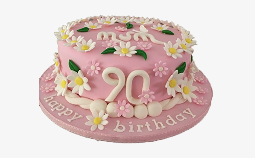 90th Birthday Cake.