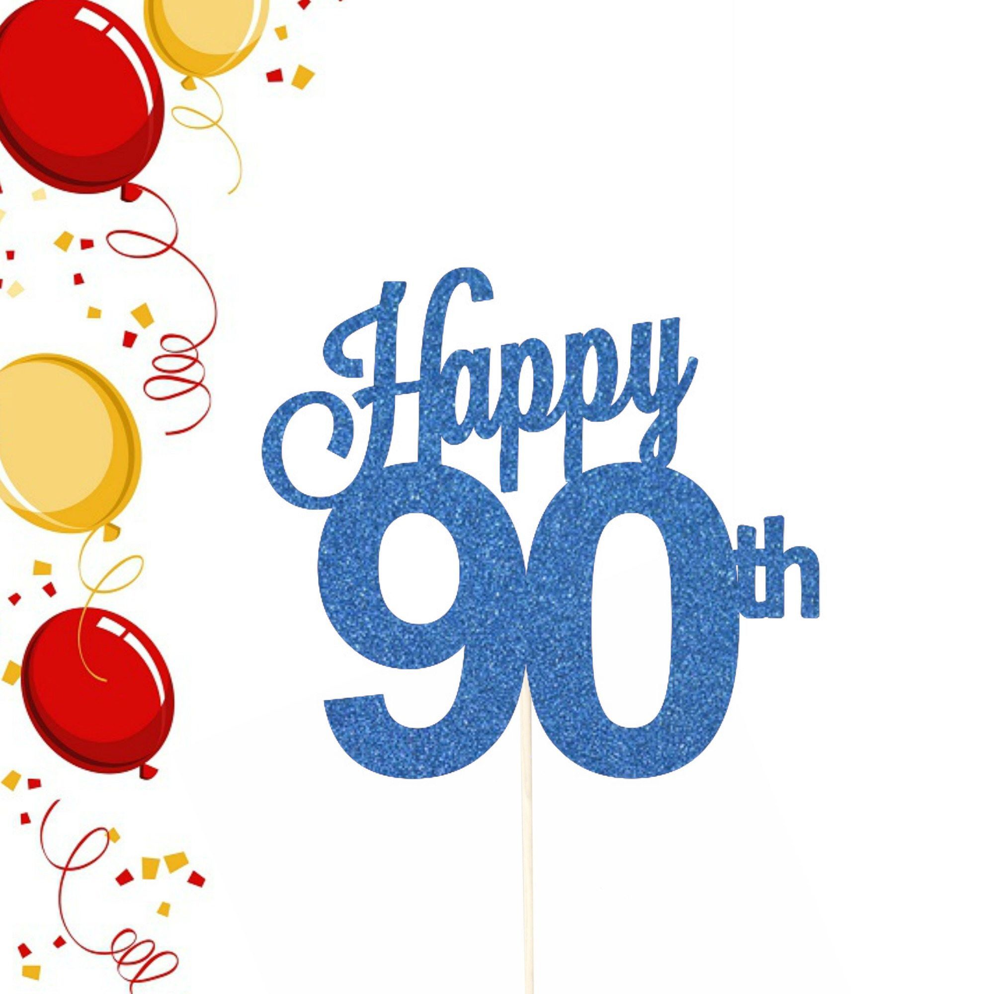 Happy 90th birthday clipart 1 » Clipart Portal.
