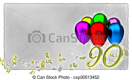 90th birthday clipart free 6 » Clipart Station.