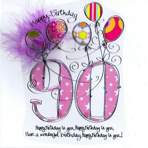 90th birthday wishes.