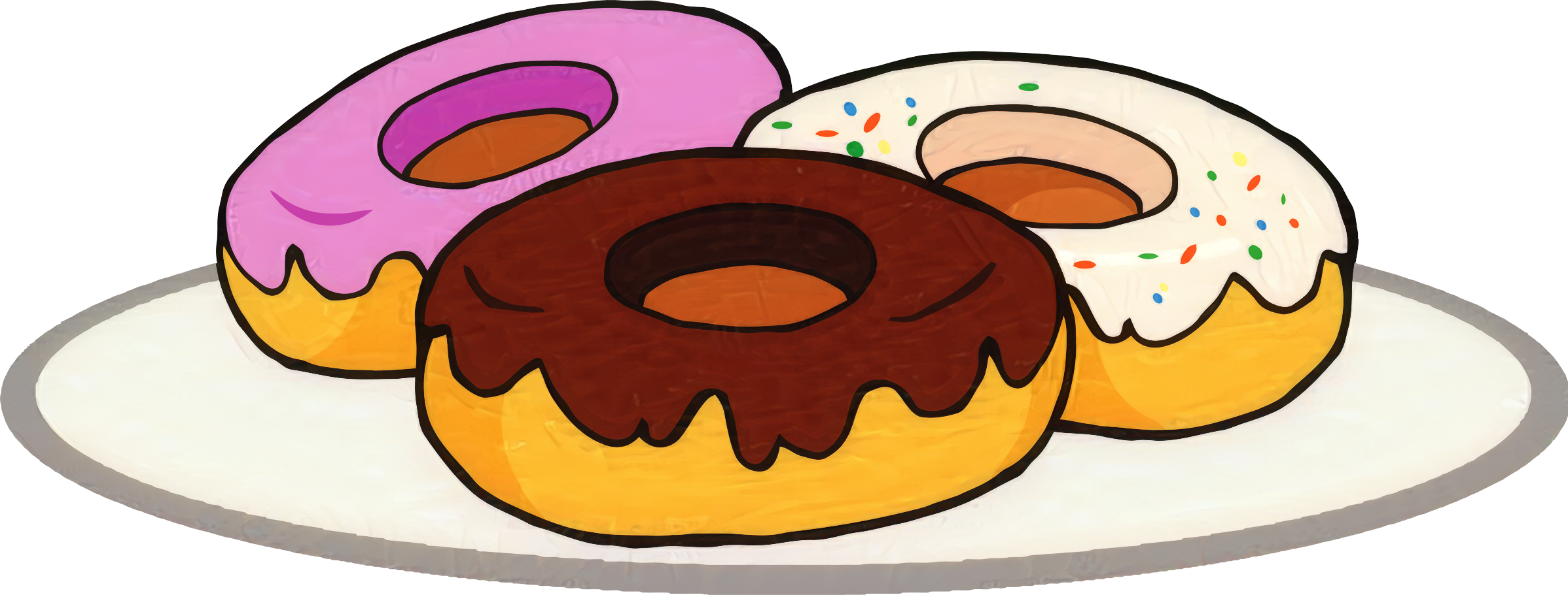 Coffee and doughnuts Donuts Clip art Vector graphics.