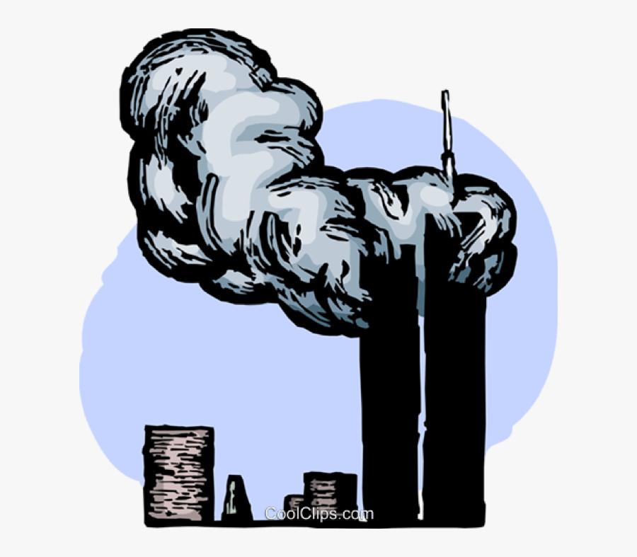 911 Terror Attack On World Trade Center.