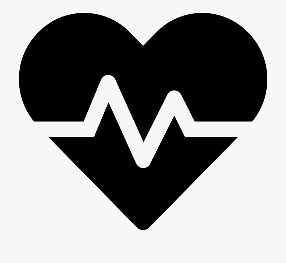 Heartbeat Icon Transparent Background, Cliparts & Cartoons.
