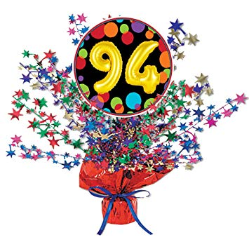 Amazon.com: 94th Birthday Balloon Centerpiece (Each) by.