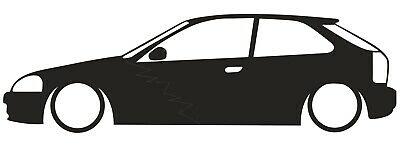 EG HONDA CIVIC Hatch JDM Sticker Decal.