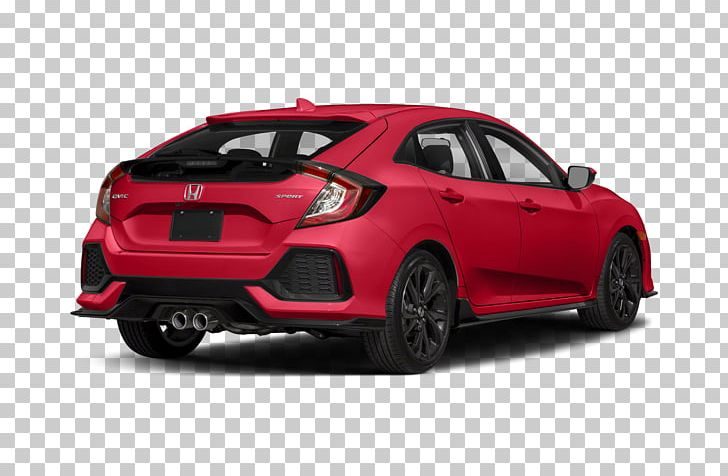 Honda City 2018 Honda Civic Sport Hatchback Vehicle PNG.