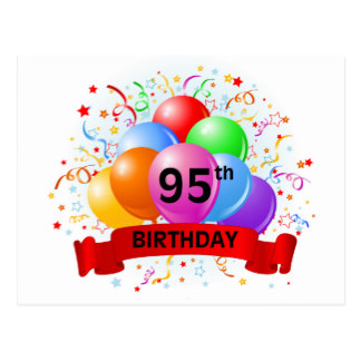 95th Birthday Clipart.