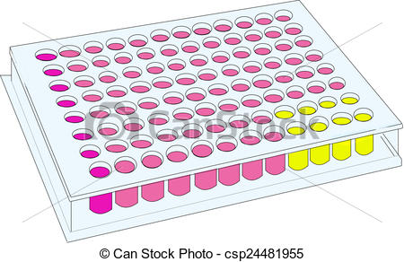 Microplate 96 well.