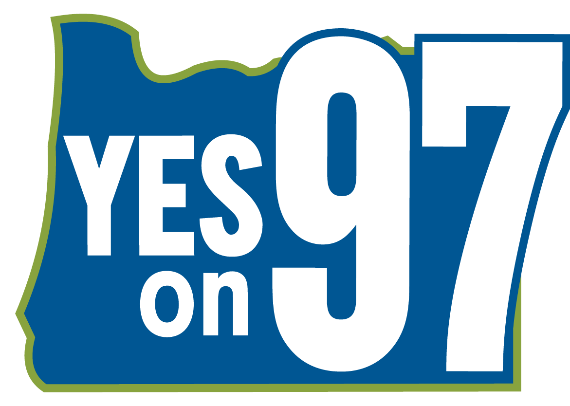 Vote Yes On Measure 97 Clipart.