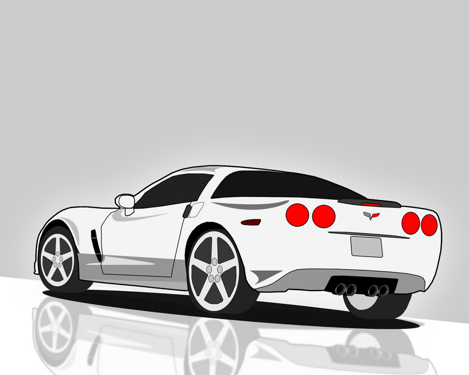 Best Corvette Clipart.