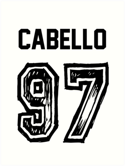 'Cabello '97' Art Print by TayloredHearts.
