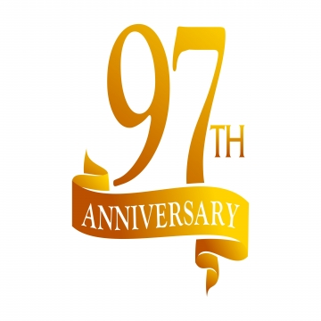 97 Anniversary PNG Images.