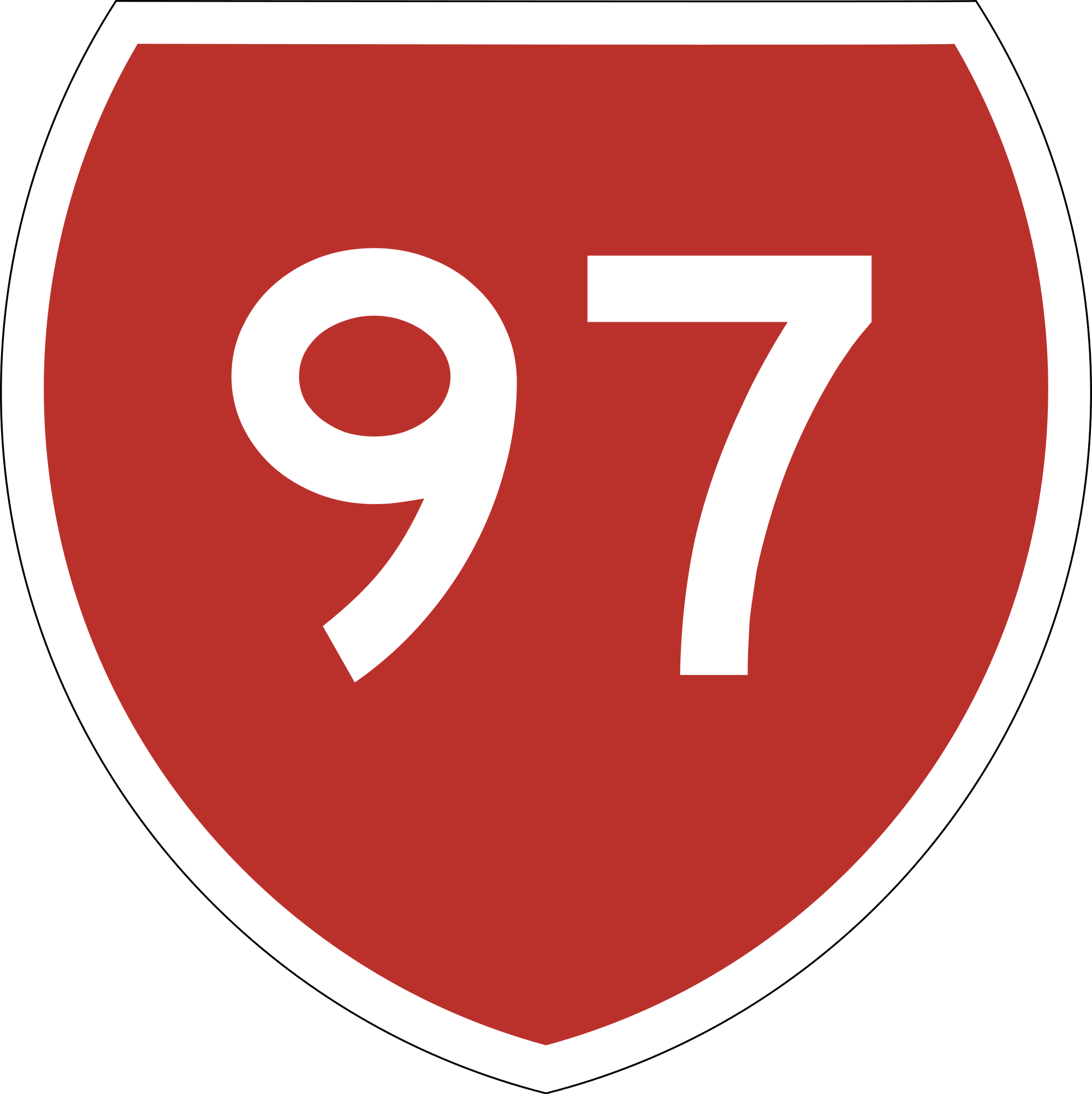 Datei:State Highway 97 NZ.svg.