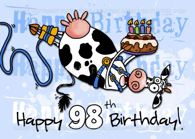 Bungee Cow Birthday.