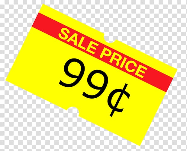 99 Cents Only Stores Sales Penny Promotion, Sale Sticker.