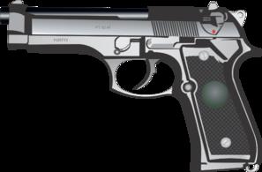9mm Pistol Clip Art at Clker.com.