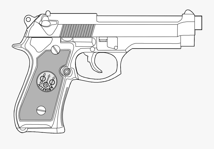 Pistol Clipart Glock.