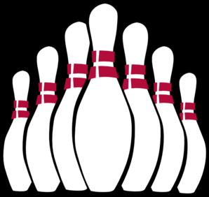 Bowling Pin Clip Art.