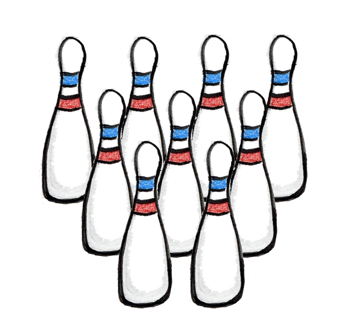 Pictures Of Bowling Pins.
