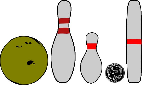 Bowling Pins And Balls Clip Art at Clker.com.