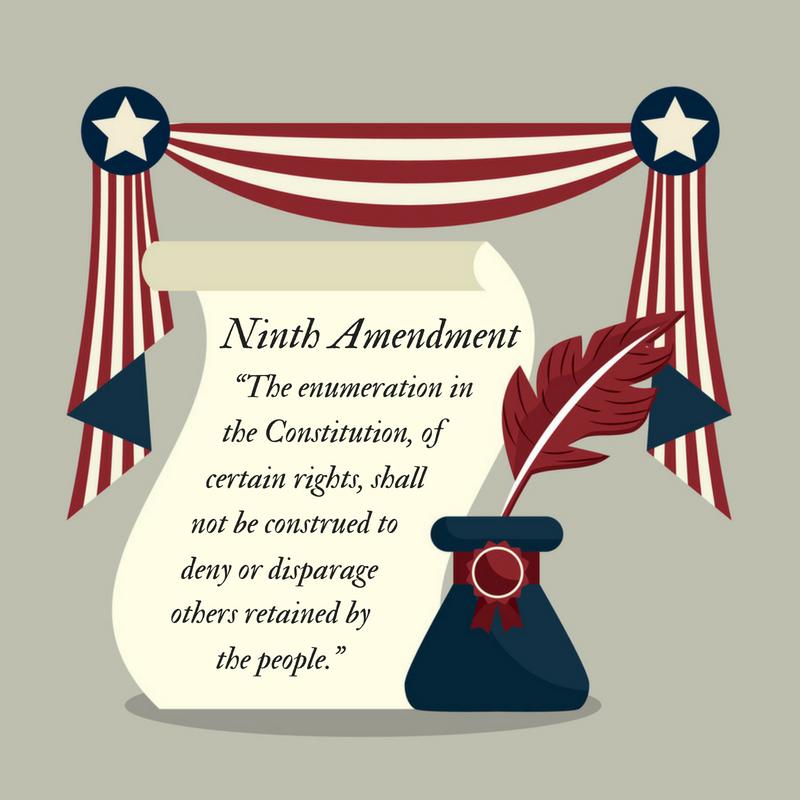 Invoking the Ninth Amendment.